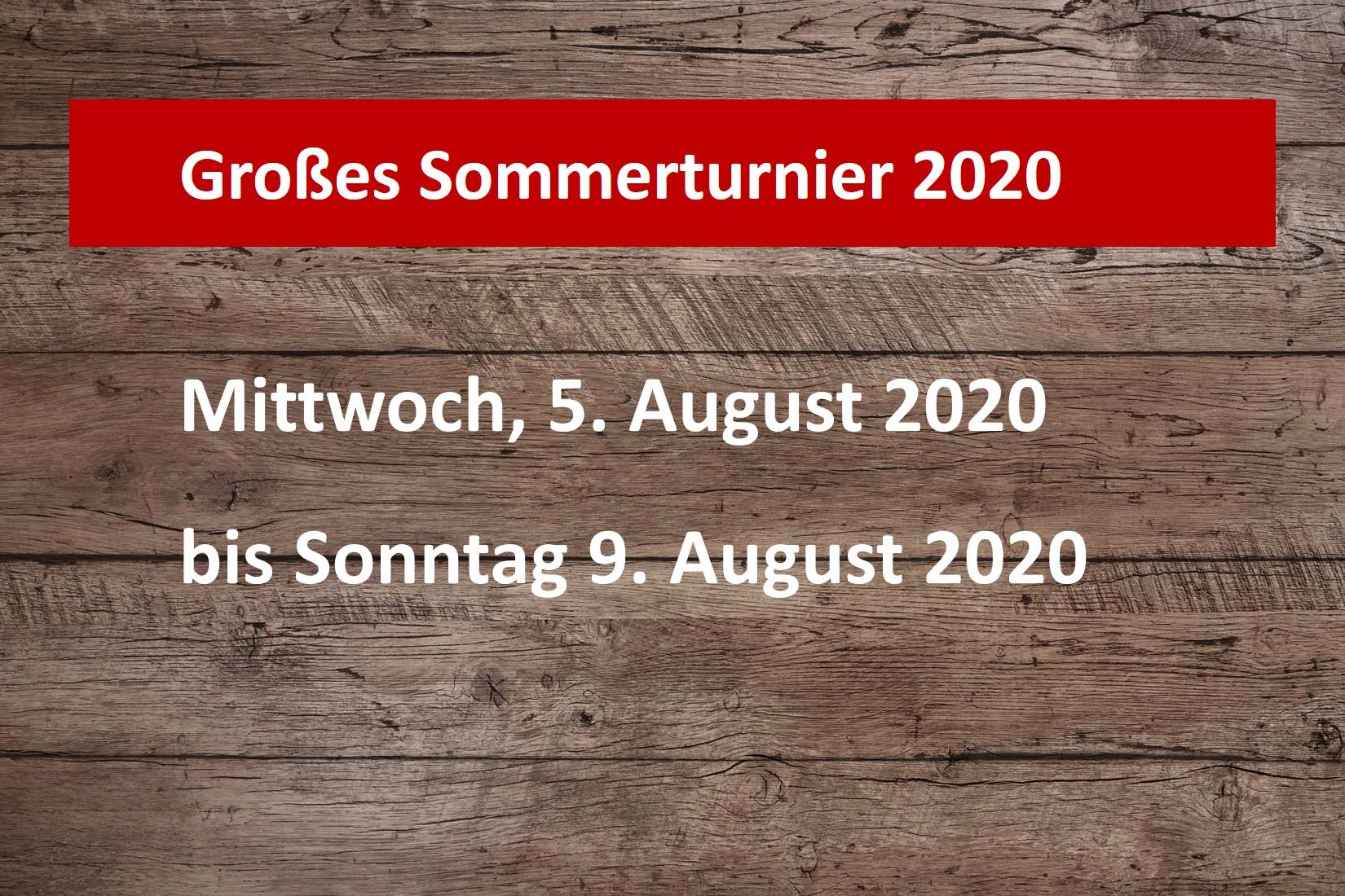 Sommerturnier 2020